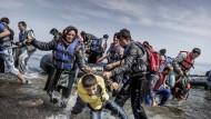 Krisentreffen auf Lesbos