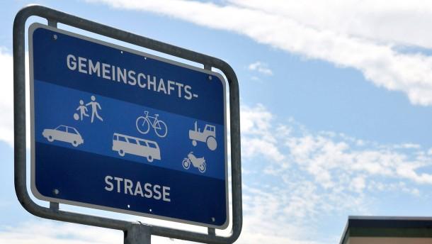 Kein Verkehrsschild ist auch keine Lösung