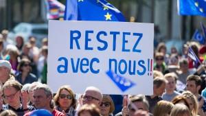Pulse of Europe schlägt auch am Stichwahltag