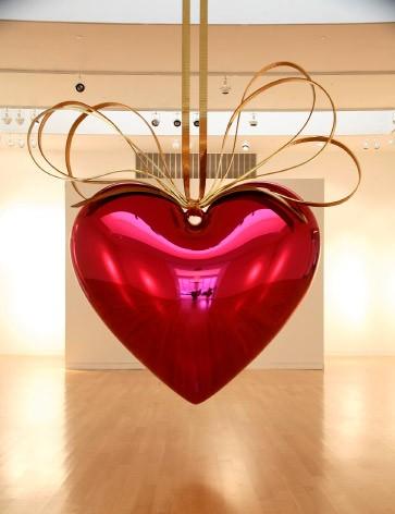 Jeff Koons - hanging heart