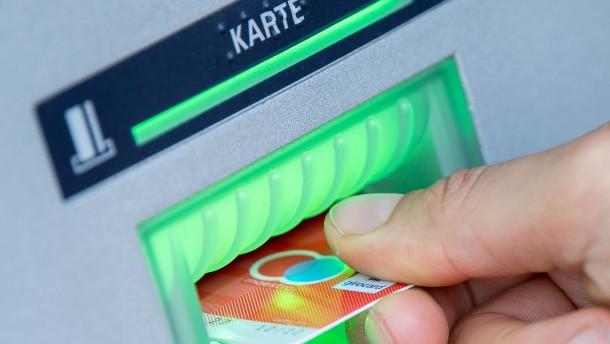 Datenklau an Geldautomaten in Hessen hat zugenommen