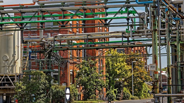 Millioneninvestition in kleinsten Frankfurter Chemie-Park