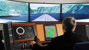 Havarie wird am Simulator untersucht