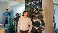 Sucht nach Durststrecke wieder Mitarbeiter: Faruk Yerli, Geschäftsführer des Computerspieleentwicklers Crytek
