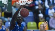 Voller Einsatz: Aziz N'Diaye ist immer mit viel Konzentration am Ball.