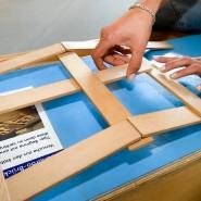 Klassiker: Leonardo-Brücke zum selber bauen im Gießener Mathematikum