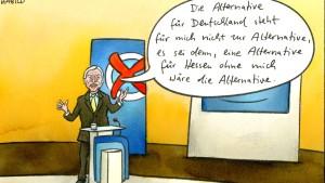 Hessen-AfD: Bouffier schlottert