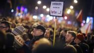 Polizei rechnet mit unangemeldeten Protesten