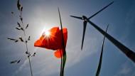 Ist der Bau von Windkraftanlagen eine Gefahr für den Welterbe-Status am Mittelrhein? Windräder, hier in nahe Kilianstädten im Main-Kinzig-Kreis