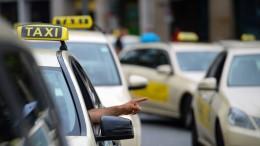 Zoll kontrolliert Frankfurter Taxifahrer und wird fündig