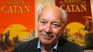 """Herr der Spiele: Klaus Teuber hat """"Catan"""" erfunden - und noch viele andere Brettspiele."""