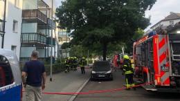 Kleinkind aus brennender Wohnung gerettet