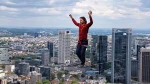 Halb Frankfurt ist ein Freizeitpark