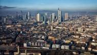 Magnetfunktion: Vor allem das Rhein-Main-Gebiet mit Frankfurt als Zentrum zieht Neubürger an