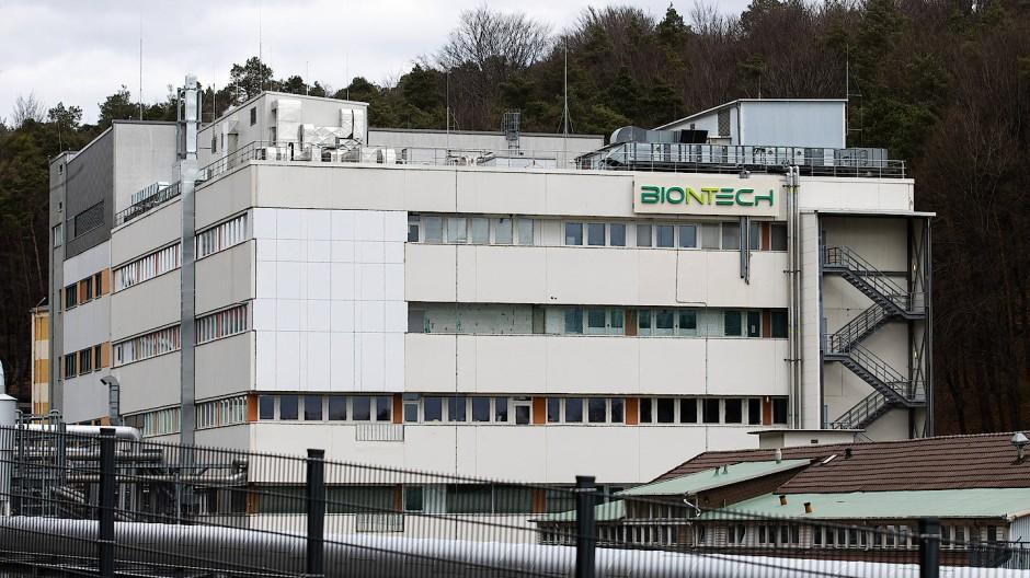 Eins der größten Impfstoffwerke der Welt: Biontech produziert hier sein Corona-Vakzin.