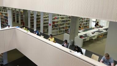 """Digitales Wälzen der Bücher gestattet: Nach einem Urteil des Europäischen Gerichtshofs ist ein """"elektronischer Leseplatz"""" in Bibliotheken erlaubt."""