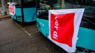 Ende des Streiks der Busfahrer nicht in Sicht