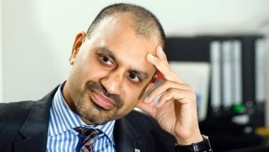Rheinländer indischer Abstammung: Joybrato Mukherjee kam in Düren zu Welt. Als er 2009 sein Amt antrat, war er Deutschlands jüngster Uni-Präsident.