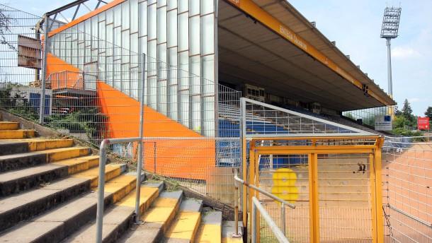 Stadion am Böllenfalltor taugt nicht für zweite Liga