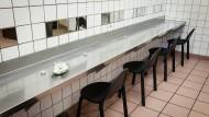Druckraum in der Niddastraße: Hier können Drogenabhängige in Ruhe und mit frischem Besteck konsumieren.