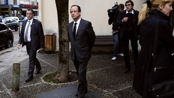 Berlin stellt sich auf Hollande ein