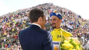 Frankreich dreht bei der Tour am Rad
