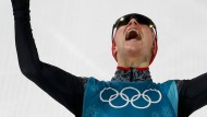 Eric Frenzel sichert sich wie schon in Sotschi 2014 Olympia-Gold.