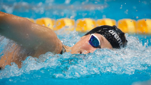 Reva Foos ist die Teilzeit-Schwimmerin