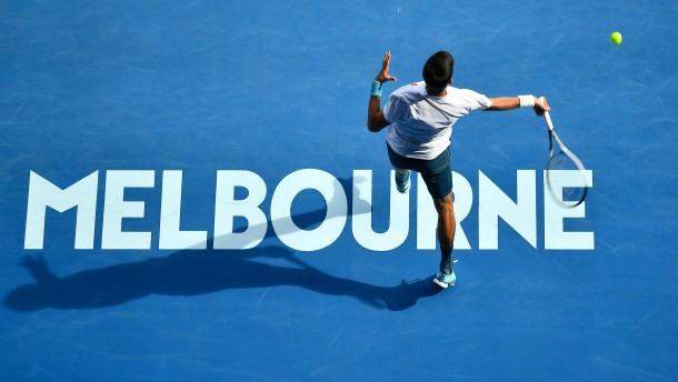 Australian Open mit bis zu 30.000 Zuschauern pro Tag