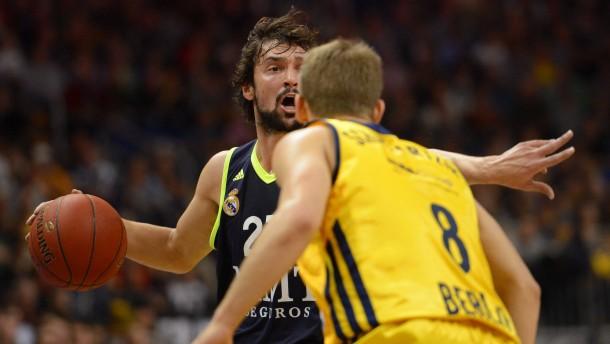 Ein bisschen zu stark für Alba: Madrid gewinnt in der Euroleague in Berlin