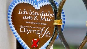"""Olympisches """"Ja"""" in Garmisch"""