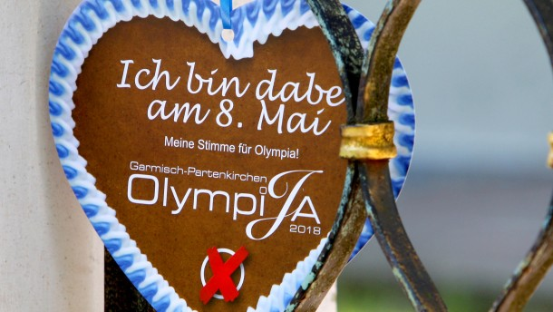 "Olympisches ""Ja"" in Garmisch"