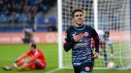 Da sitzt nur noch HSV-Torwart Drobny: Jairo hat ein Tor für die Jahresrückblicke erzielt