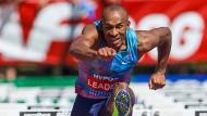 Der beste Hürdensprinter im Feld der Mehrkämpfer: Damian Warner