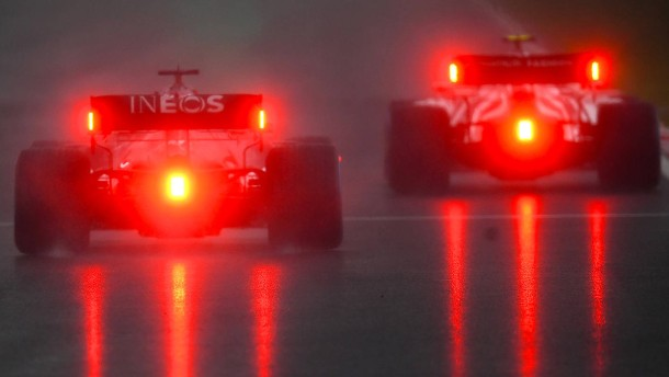 Regen sorgt für Chaos bei der Formel 1 in der Türkei