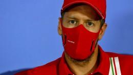 Vettel und der Ärger über sein Aus bei Ferrari