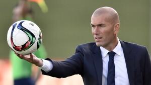 Zinédine Zidane wird Trainer bei Real Madrid
