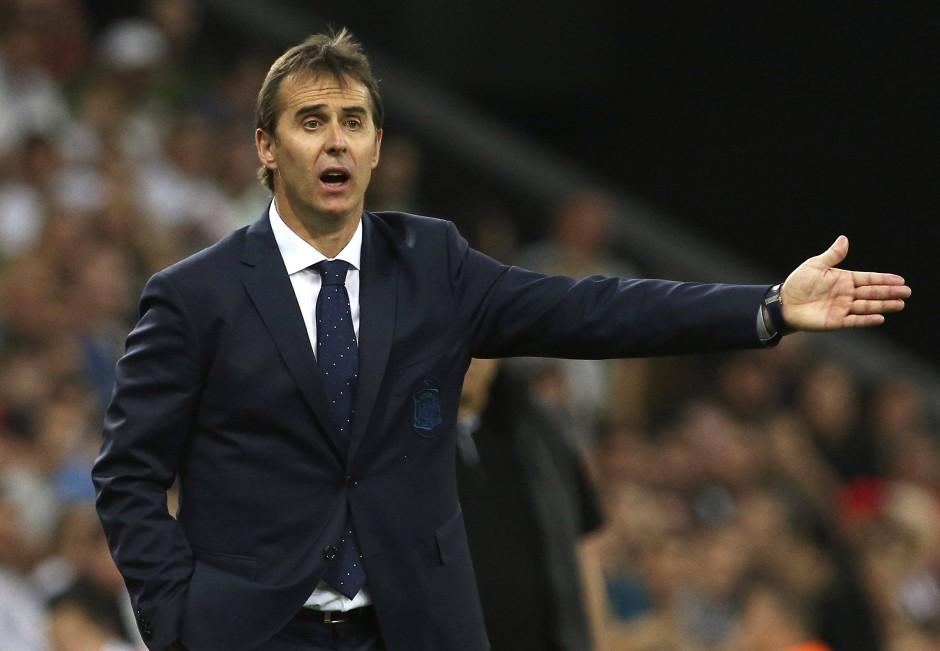Aus und vorbei: Spanien-Trainer Julen Lopetegui muss kurz vor der WM gehen.