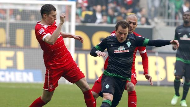 Kein Platz für schönes Spiel in Düsseldorf