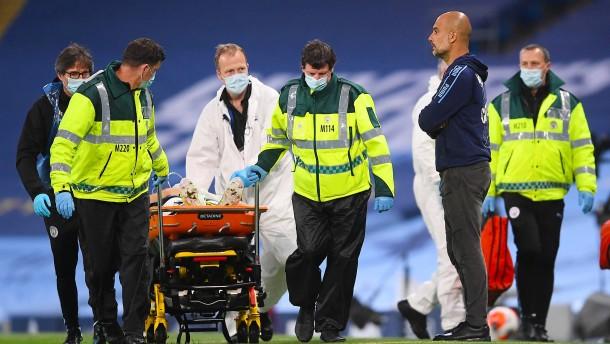 Unfall und Panne überschatten Premier-League-Start