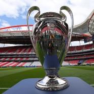2014 stand der Champions-League-Pokal schon mal in einem leeren Stadion in Lissabon: 2020 wird die Trophäe aber nicht nur vor leeren Rängen präsentiert.