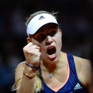 Siegerfaust: Angelique Kerber hat in Stuttgart gewonnen