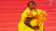 Avantgardistisch: Serena Williams auf der Met Gala im New Yorker Metropolitan Museum of Art.