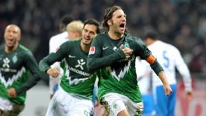 Frings lässt Werder spät jubeln