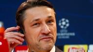 Ist nach wie vor um Optimismus bemüht: Bayern-Trainer Niko Kovac.