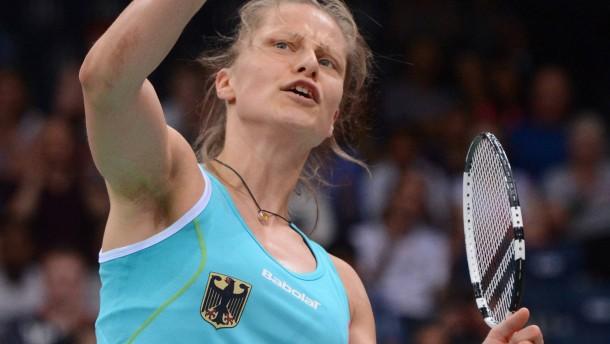 Juliane Schenk wird mit der deutschen Mannschaft Europameister