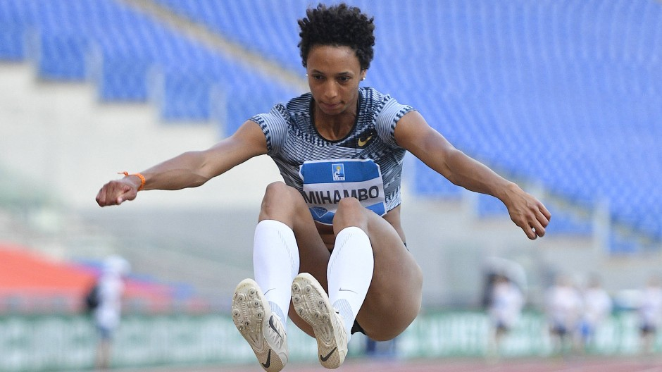 Abgehoben: Malaika Mihambo auf dem Sprung an die Spitze der Jahresbestenliste
