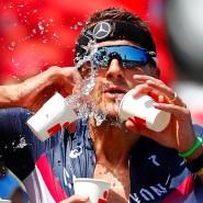 Nicht mehr aus dem Vollen schöpfen: Den Veranstaltern der Ironaman-Wettbewerbe geht es derzeit nicht so gut wie im Bild Weltmeister Jan Frodeno.