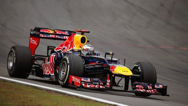 im chaotischen Rennen von Brasilien fuhr Sebastian Vettel auf Platz sechs und wurde Weltmeister