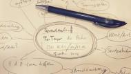 Bitte nehmen Sie Papier und Stift zur Hand: analoges Planungstool bei #NilsLäuft